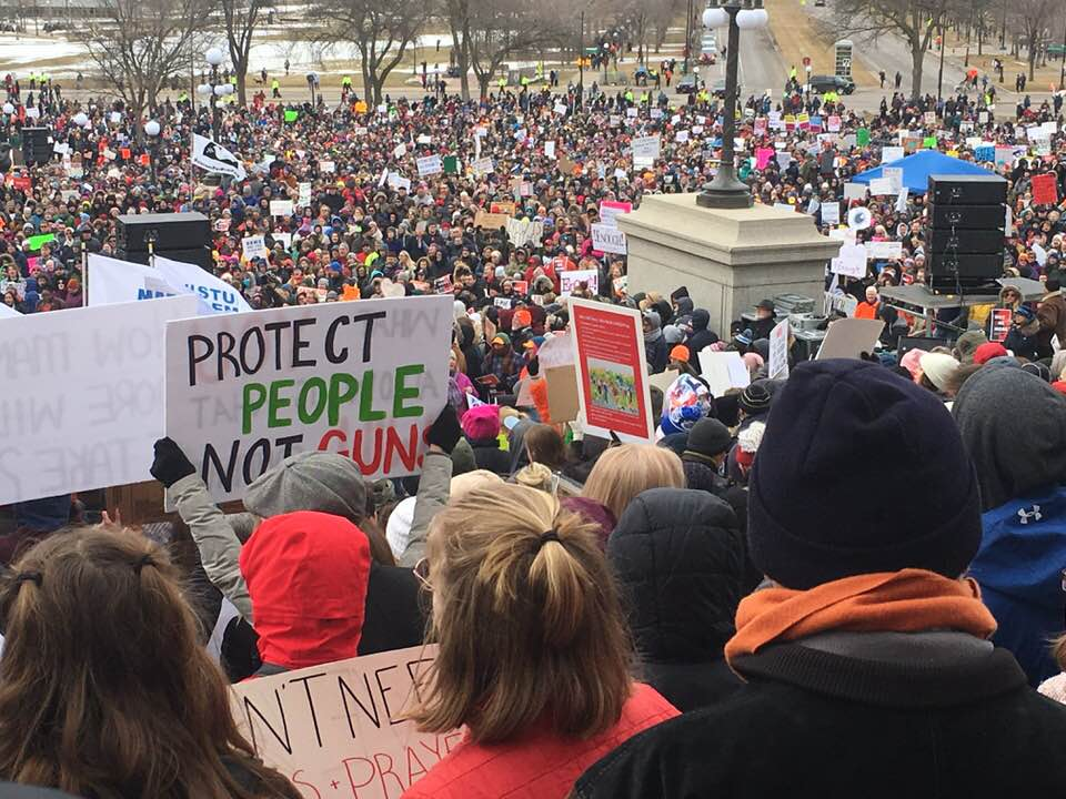 march for our lives at state capitol