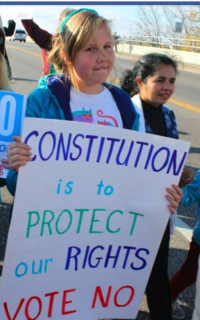 constitution is to protect our rights