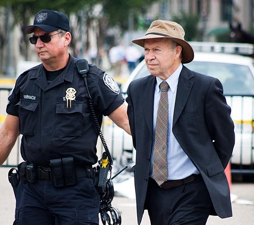 james hansen arrested for protesting keystone xl